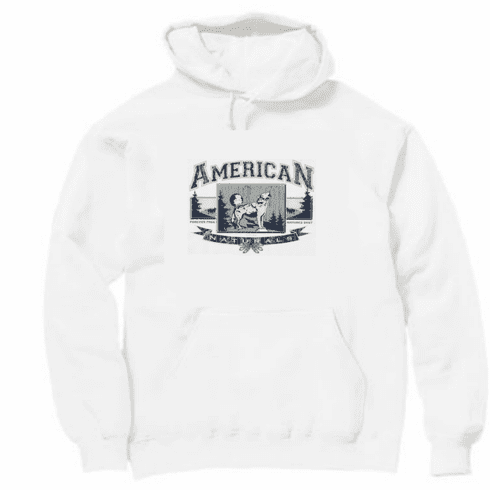 Animal Nature wild American Naturals Nature's Best Forever Free wolf wolves pullover hoodie hooded sweatshirt