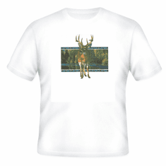 Animal Nature wild deer buck shirt t-shirt