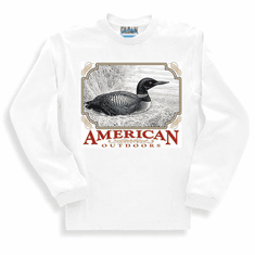 Animal nature wild life American outdoors duck long sleeve tshirt sweatshirt