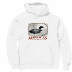 Animal nature wild life American outdoors duck pullover hoodie hooded sweatshirt