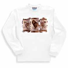 Animal nature wild life lion tiger leopard safari long sleeve tshirt sweatshirt