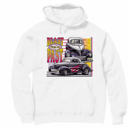 Antique Cars Car Blast from the past hoodie hooded sweatshirt