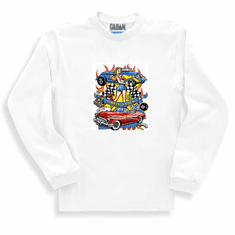 Antique cars Lady Luck long sleeve t-shirt sweatshirt