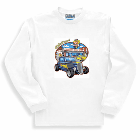Antique cars Make it go drive in long sleeve t-shirt sweatshirt