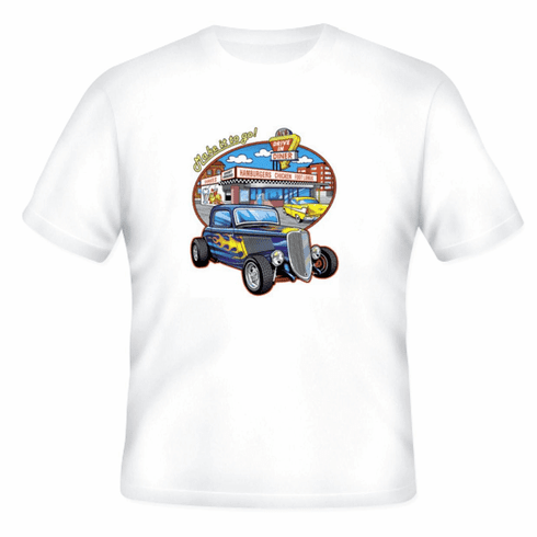 Antique cars Make it go drive in t-shirt shirt