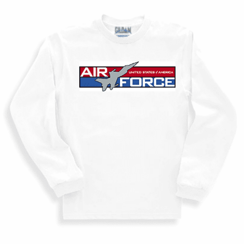 Armed Forces Military Air Force long sleeve t-shirt shirt sweatshirt sayings United States of America US Air Force