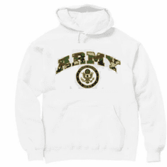 Armed Forces Military Army hoodie hooded sweatshirt sayings United States of America US seal
