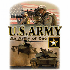 Armed Forces Military Army shirt sayings United States of America US An Army of One