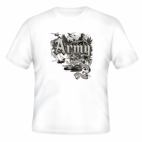 Armed Forces Military Army t-shirt shirt sayings United States of America US Army Any time, Any place, Any where