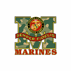 Armed Forces United States US Military Marines Marine Corps Semper Fidelis shirt