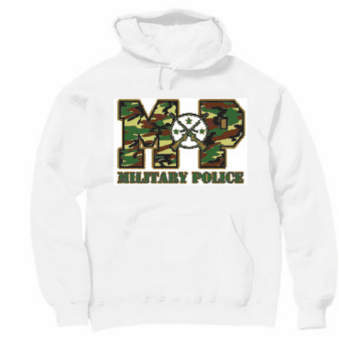 Armed Forces United States US Military Police hoodie hooded sweatshirt