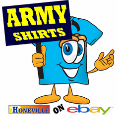 Army Shirts at HoneVille on Ebay