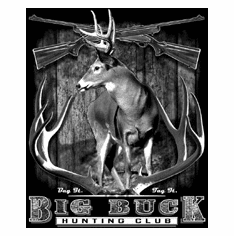 Big Buck Club Deer Hunting shirt