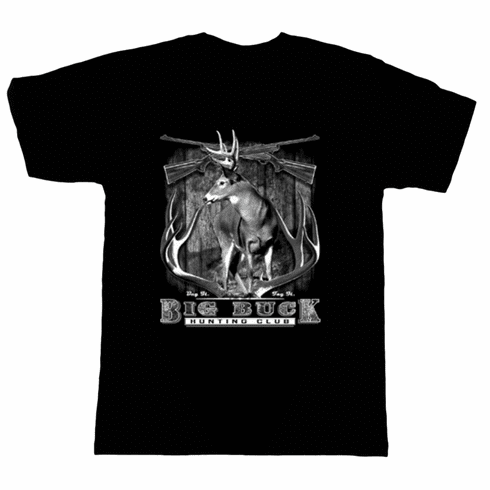 Big Buck Club Deer Hunting t-shirt shirt