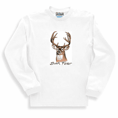 BUCK FEVER deer hunting sweatshirt or long sleeve T-shirt