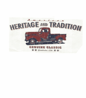 car truck shirt American Heritage Tradition Genuine Classics trucks