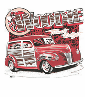 car truck shirt Classic Woodie termite delight