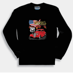 Cars Antique car Route 66 America's Mainstreet long sleeve t-shirt sweatshirt