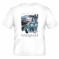 Christian firefighter t-shirt the ultimate sacrifice