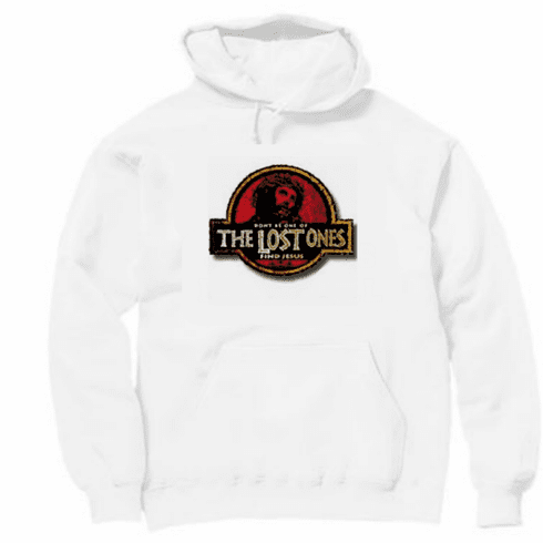 Christian hoodie hooded sweatshirt The Lost ones Find Jesus