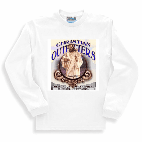 Christian long sleeve T-Shirt or sweatshirt Christian outfitters Lord's Lord is my shepherd