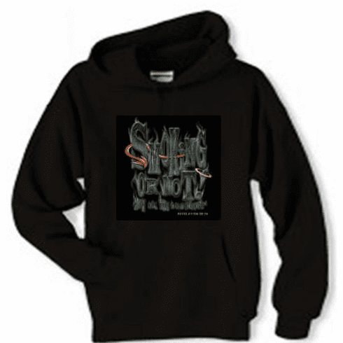 Christian pullover hooded hoodie sweatshirt Smoking or not? How will you spend eternity?
