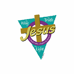 Christian shirt:  JESUS the way the truth the LIGHT
