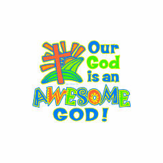 Christian shirt:  Our God is an awesome God!