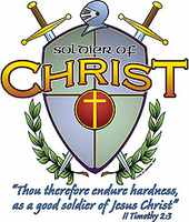Christian shirt:  Soldiers of CHRIST