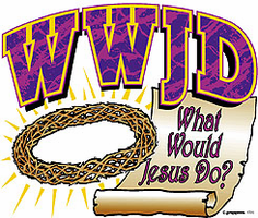 Christian Shirt: WWJD What Would Jesus Do?
