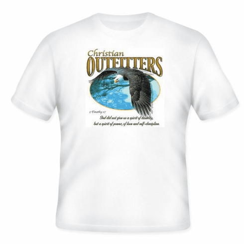 Christian t-shirt Christian Outfitters Eagle