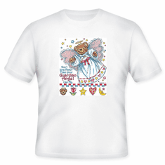 Christian T-Shirt:  Don't live faster than your guardian angel can fly