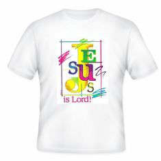 Christian t-shirt JESUS IS LORD