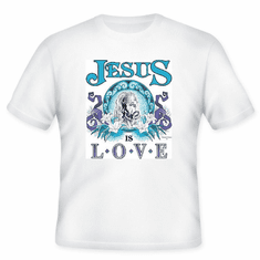Christian T-shirt:  Jesus is Love