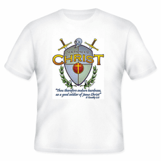 Christian T-shirt:  Soldiers of CHRIST