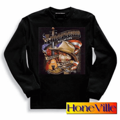 Country and Western music american way of life sweatshirt or long sleeve T-shirt
