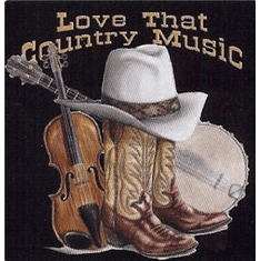 Country And Western shirt: Love that country Music