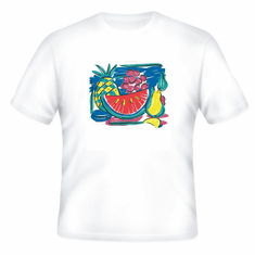 Country Decorated tropical fruit fruits tshirt shirt