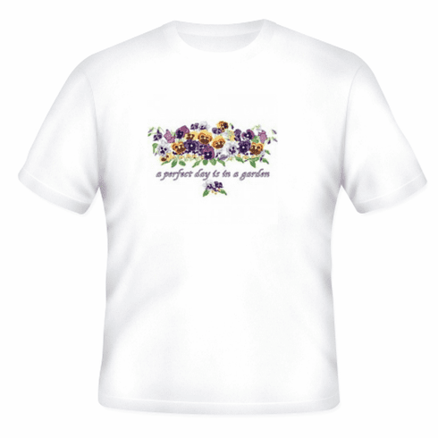 Country Decorative A perfect day is in the garden tshirt shirt