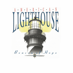 Country Decorative American Lighthouse beacon hope tshirt shirt