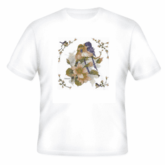 Country Decorative Birds on a tree tshirt shirt
