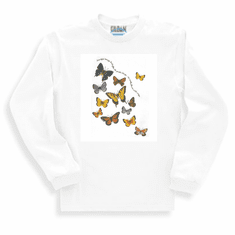 Country Decorative Butterflies Butterfly Beautiful Breezy butterflies the garden brings are really flowers with wings long sleeve tshirt sweatshirt