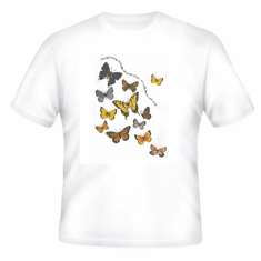 Country Decorative Butterflies Butterfly Beautiful Breezy butterflies the garden brings are really flowers with wings tshirt shirt