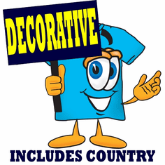 COUNTRY & DECORATIVE designs