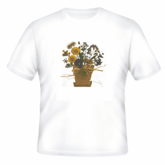 Country Decorative flower pot tshirt shirt