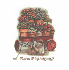Country Decorative Flowers bring happiness tshirt shirt