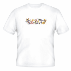 Country Decorative flowers humming birds tshirt shirt