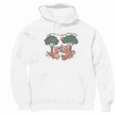 Country Decorative friends are for sharing breezy days pig bunny pullover hoodie hooded sweatshirt