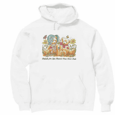 Country Decorative friends are like flowers that never fade teddy bear pullover hoodie hooded sweatshirt