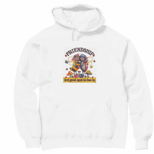 Country Decorative Friendship is a good spot to bee in bee lady bug pullover hoodie hooded sweatshirt